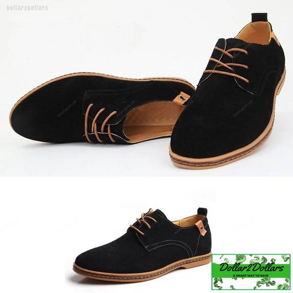 Menswomens Casual Dress Formal Oxfords Flats Suede Shoes