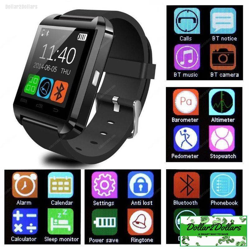 be1eb2cad U8 Smart Watch Bluetooth Watch for Android smartphones and iPhone ...