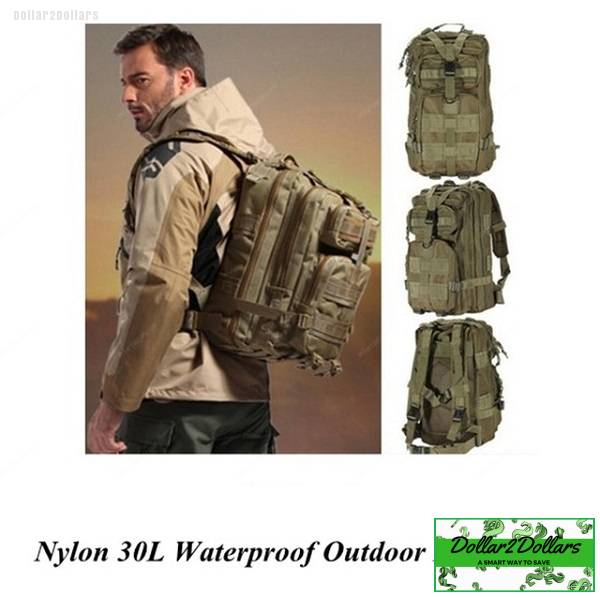waterproof military tactical backpack dollar2dollars
