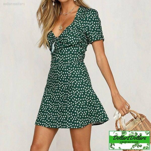 Women Casual Elegant Mini Dress
